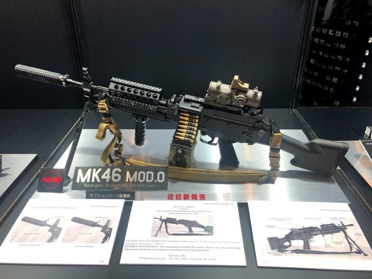 東京マルイ次世代電動ガンMk46MOD.0が11月に発売!気になるお値段、スペックは?