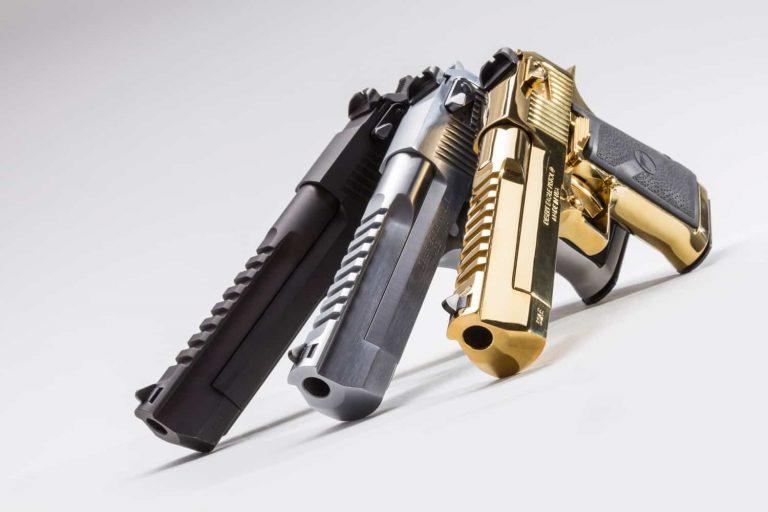 最強の拳銃デザートイーグルとは?実銃、エアガンで人気、その魅力とは?