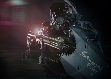 VFCがエアガン「Samurai Edge AEG(サムライエッジ)」を発表