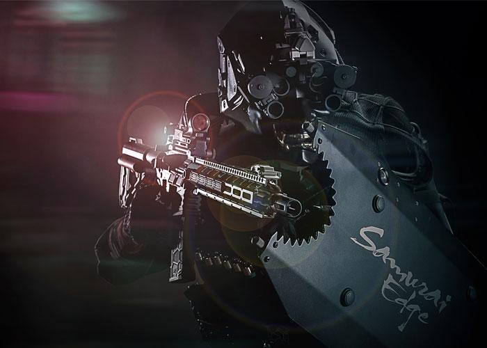 VFCが侍の名が付くエアガン「Samurai Edge AEG」を発表