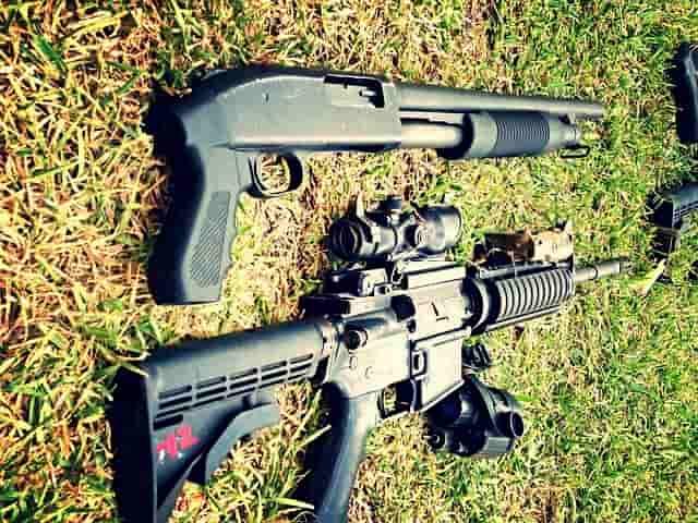 銃・ライフルの種類について
